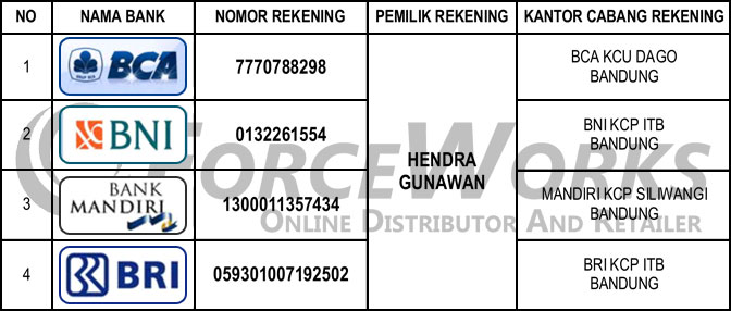 sepatu safety shoes account number