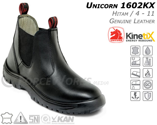 Safety Shoes Unicorn 1602KX Kinetix Series Safety Shoes UNICORN 1602 KX (KinetiX Series)