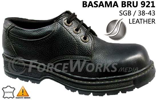 Sepatu Safety Basama Soga BRU 921